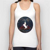 unicorn Tank Tops featuring Unicorn by Danse de Lune