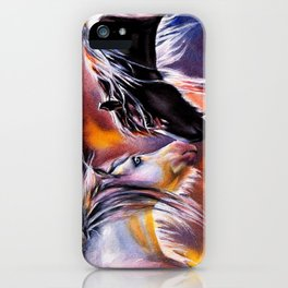 No Words Required iPhone Case