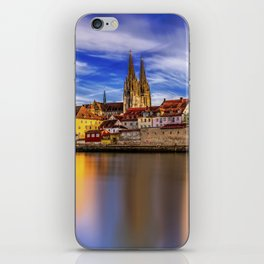 Panoramic Regensburg | Germany iPhone Skin