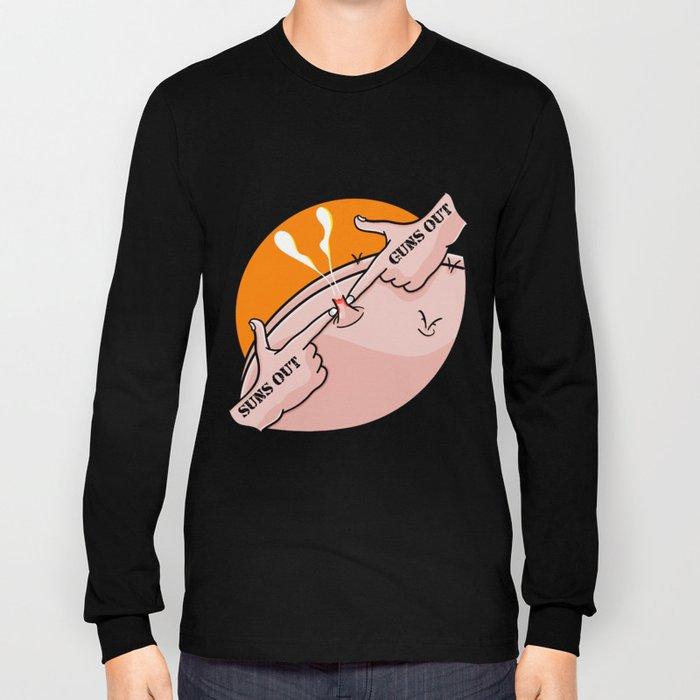 Suns Out Guns Out Zit Long Sleeve T-shirt