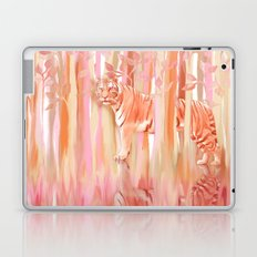 Tiger in the Trees - Painting / Collage Laptop & iPad Skin