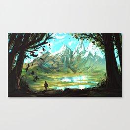 zelda breath of the wild Canvas Print