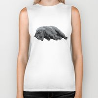 dreams Biker Tanks featuring Sweet Dreams Ursus Arctus  by Sandra Dieckmann