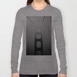 Dark Golden Gate Long Sleeve T-shirt