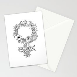 Feminist Flower  2.0 Stationery Cards