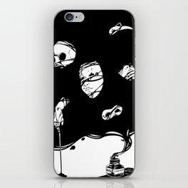 Tinta Negra iPhone Skin