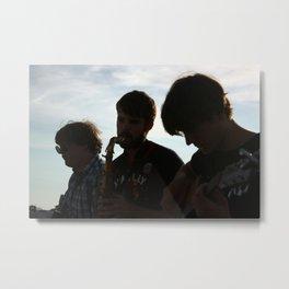 Beach Serenade Metal Print