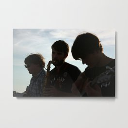 Beach Serenade Metal Print