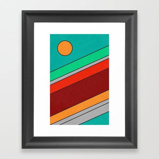 Moon Spotting Framed Art Print