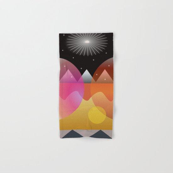 Solar Flares Hand & Bath Towel