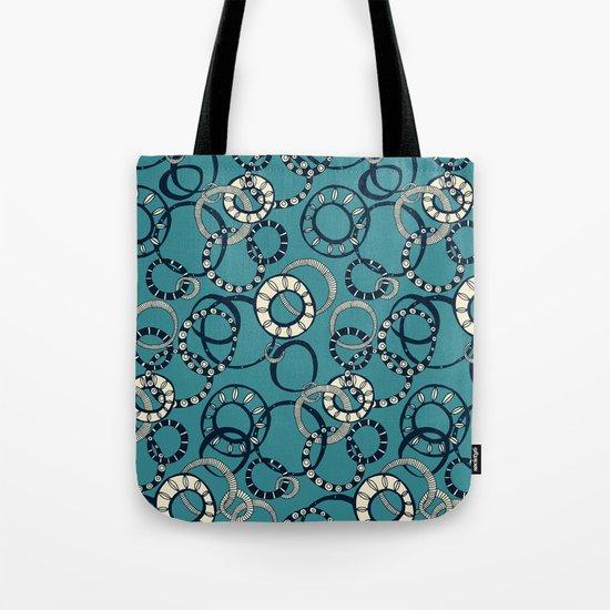 Honolulu hoopla blue Tote Bag