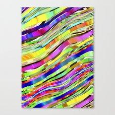 Layered Rainbow Canvas Print