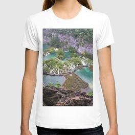 Pilitvice Lakes and Waterfalls, Croatia T-shirt