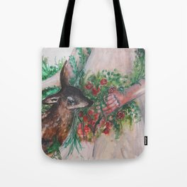 I'm healing with time Tote Bag