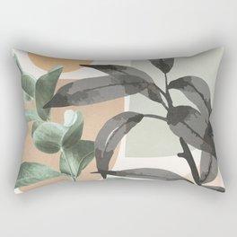 Sunset Flora 01 Rectangular Pillow