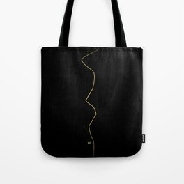 Kintsugi 1 #art #decor #buyart #japanese #gold #black #kirovair #design Tote Bag