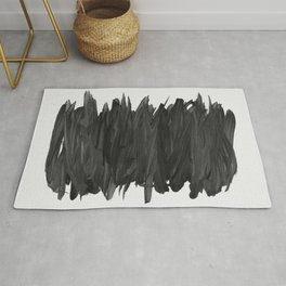 Abstract Minimalism #2 #minimal #ink #decor #art #society6 Rug