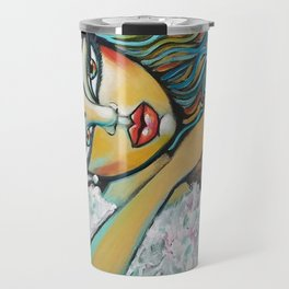 Farewell kiss Travel Mug
