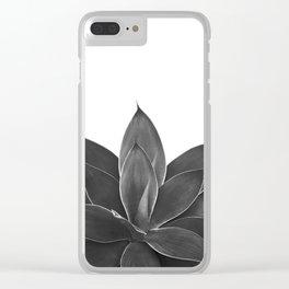 Black Agave #1 #tropical #decor #art #society6 Clear iPhone Case