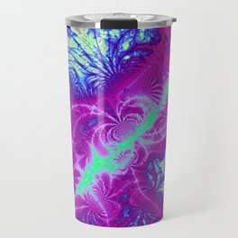 Fractal Arabesque Travel Mug