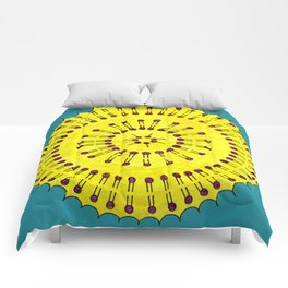 Vesicle Mandala 03 Comforters