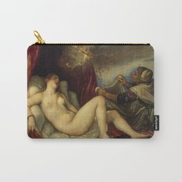 "Titian (Tiziano Vecelli) ""Danae receiving the Golden Rain"", 1553-1554 Carry-All Pouch"