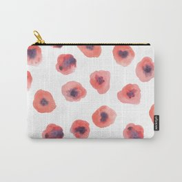 Reigning Poppies Carry-All Pouch