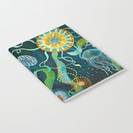 Three moons & a tropical sun Notebook