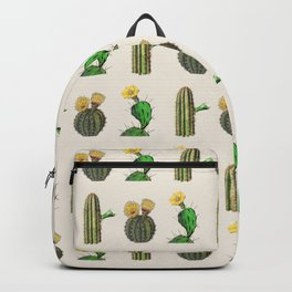 HOMEMADE CACTUS PATTERN Backpack