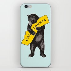 Vintage California Bear iPhone & iPod Skin