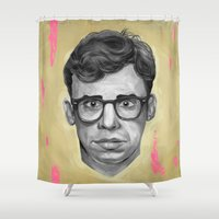 ghostbusters Shower Curtains featuring Rick Moranis by FAMOUS WHEN DEAD