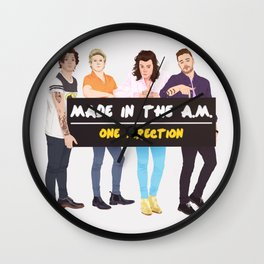 Made in the A.M. Wall Clock