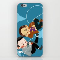 inception iPhone & iPod Skins featuring inception by Saalk