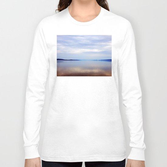 Matapedia River Mouth Long Sleeve T-shirt