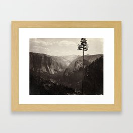 Yosemite Valley, California Framed Art Print