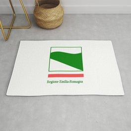 flag of Emilia romagna Rug