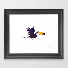 Wild Adventure - Toucan Framed Art Print