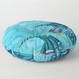 Seagulls Surf Floor Pillow