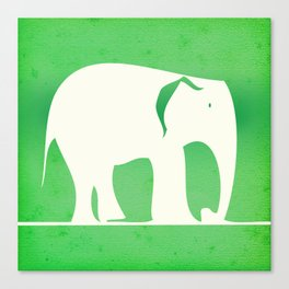 Sweet Elephant Canvas Print