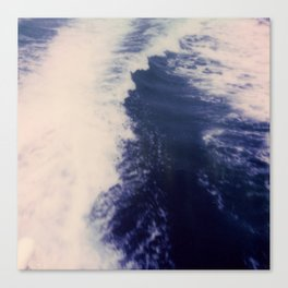 Blue Sea at Ithaka island Greece Canvas Print