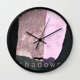 Shadows - Sicily Wall Clock
