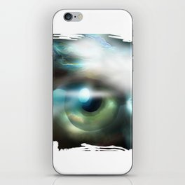 The Eye Of The Storm iPhone Skin