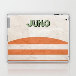 Juno - Alternative Movie Poster, classic movie, funny movie, minimal movie poster Laptop & iPad Skin