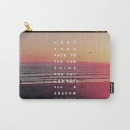 Face to the Sunshine Carry-All Pouch