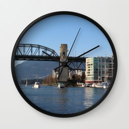 Burrard Bridge Wall Clock