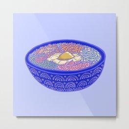 Bibimbap Bowl Metal Print