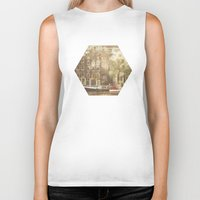 amsterdam Biker Tanks featuring Amsterdam by Cassia Beck