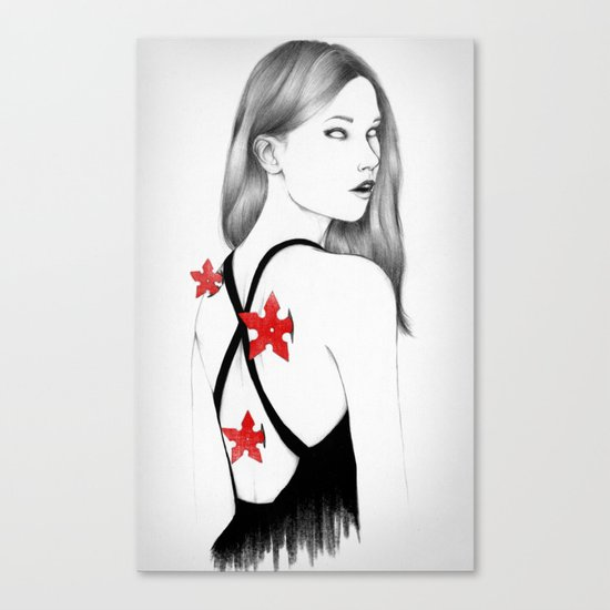 Back Stabbers Canvas Print