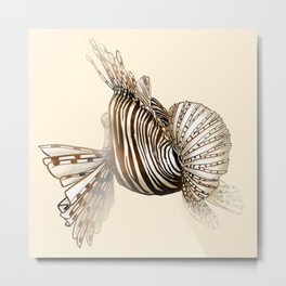 Poisson : Rascasse Metal Print