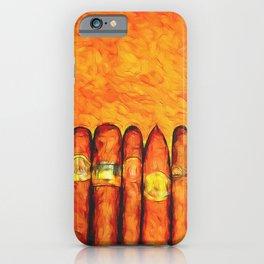 Cuban Cigars iPhone Case